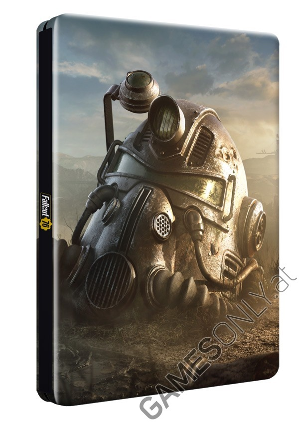 Steelbook Fallout 76 - 16,99 € - Lien Direct :  https://www.gamesonly.at/Fallout_76_Sammler_Steelbook_Merchandise_11425.html