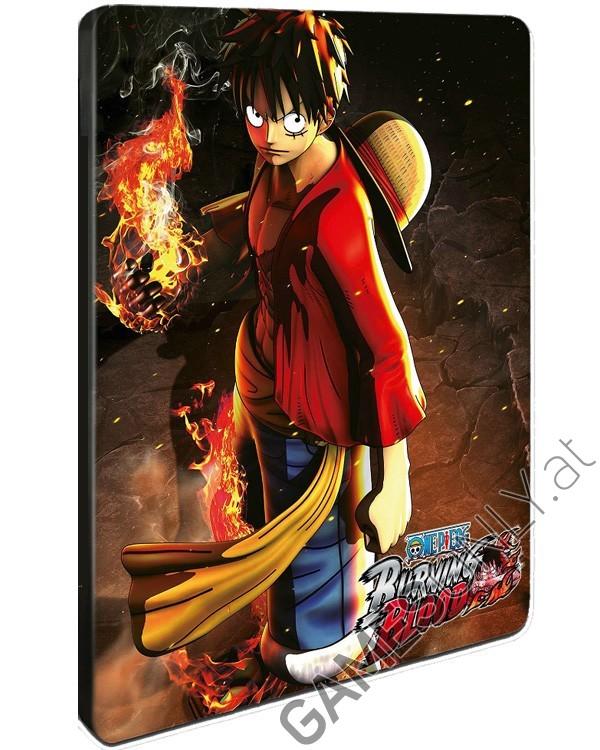 FuturePak One Piece : Burning Blood - 16,99 € - Lien Direct :  https://www.gamesonly.at/One_Piece__Burning_Blood_Steelbook_Merchandise_11861.html