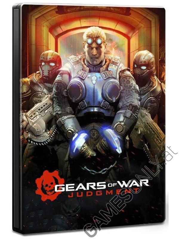 Steelbook Gears Of War Judgment - 14,99 € - Lien Direct :  https://www.gamesonly.at/Gears_Of_War_Judgment_Sammler_Steelbook_Merchandise_11701.html