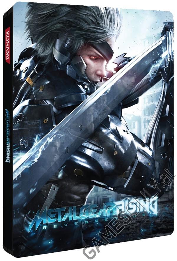 Steelbook Metal Gear Rising Revengeance - 14,99 € - Lien Direct :  https://www.gamesonly.at/Metal_Gear_Rising_Revengeance_Sammler_Steelbook_Merchandise_11703.html