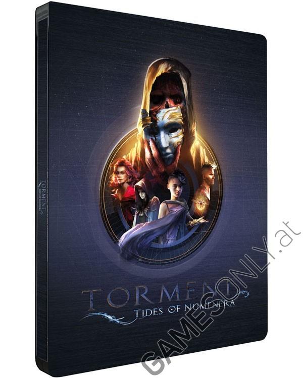 Steelbook Torment : Tides Of Numenera - 14,99 € - Lien Direct :  https://www.gamesonly.at/Torment__Tides_of_Numenera_Sammler_Steelbook_Merchandise_11908.html