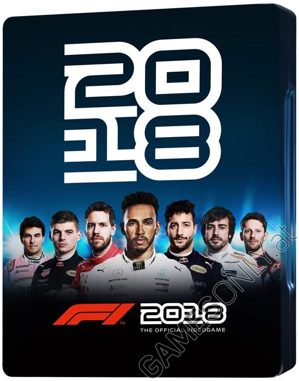 Steelbook F1 2018 - 14,99 € - Lien Direct :  https://www.gamesonly.at/Formel_1_2018_Merchandise_11648.html