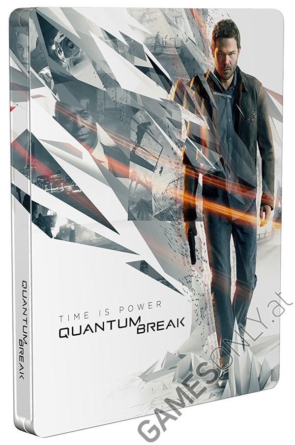 Steelbook Quantum Break - 14,99 € - Lien Direct : https://www.gamesonly.at/Quantum_Break_Merchandise_11649.html