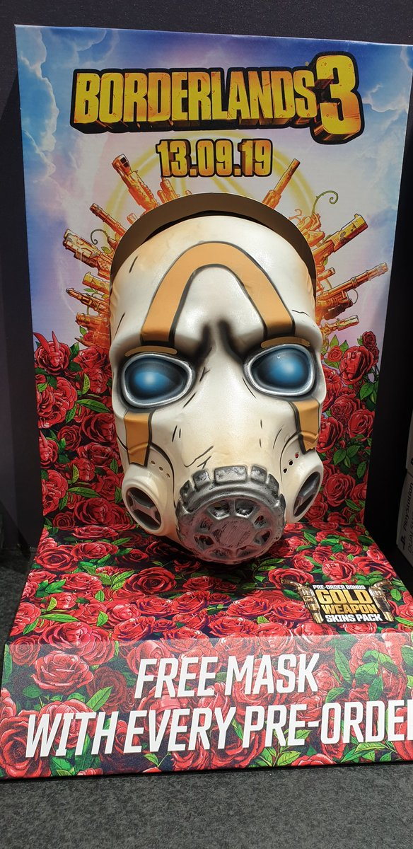 Masque Psycho Borderlands 3