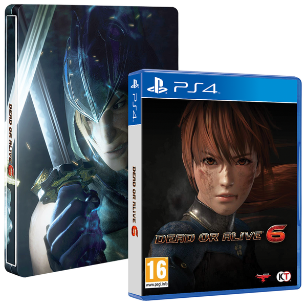 Edition Steelbook Dead Or Alive 6 PS4