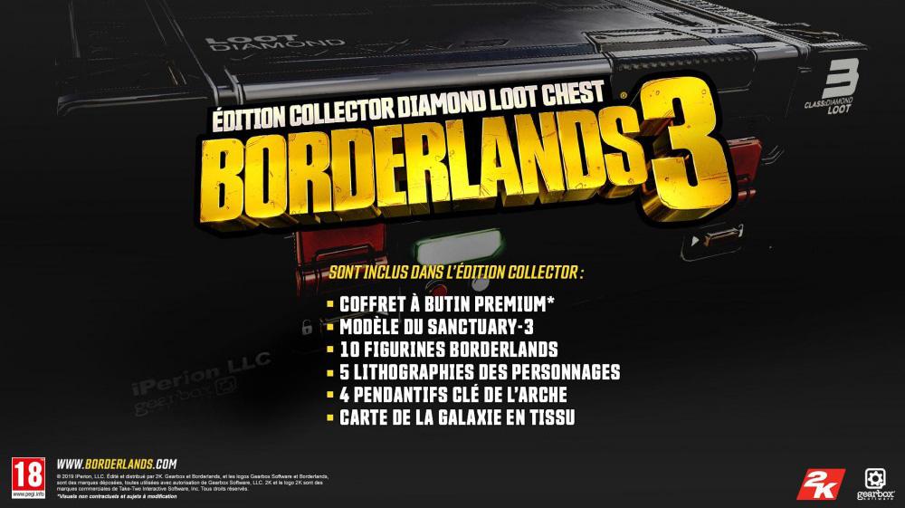 Edition Collector Borderlands 3