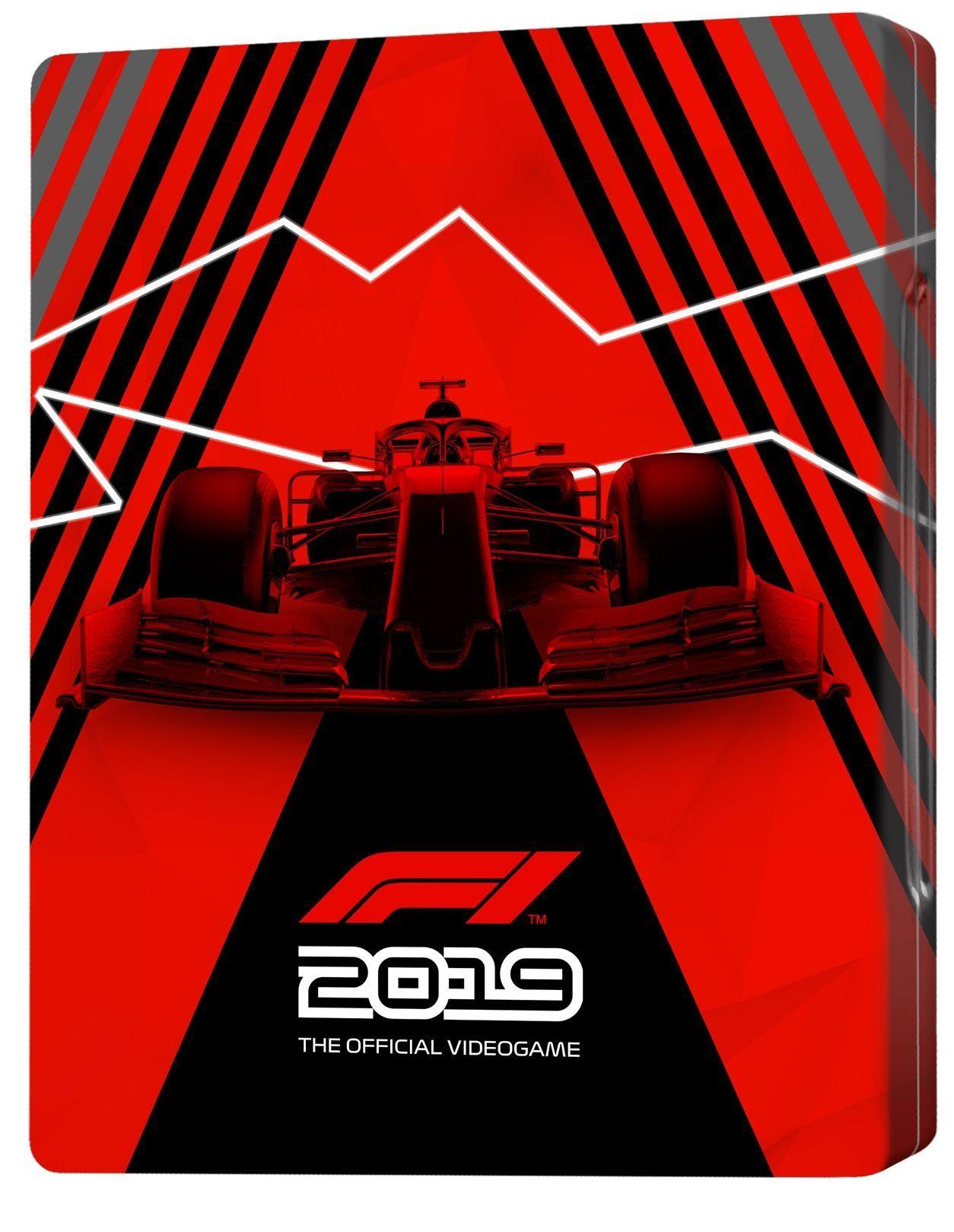 F1 2019 - Steelbook
