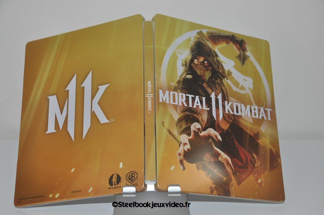 Steelbook Mortal Kombat 11