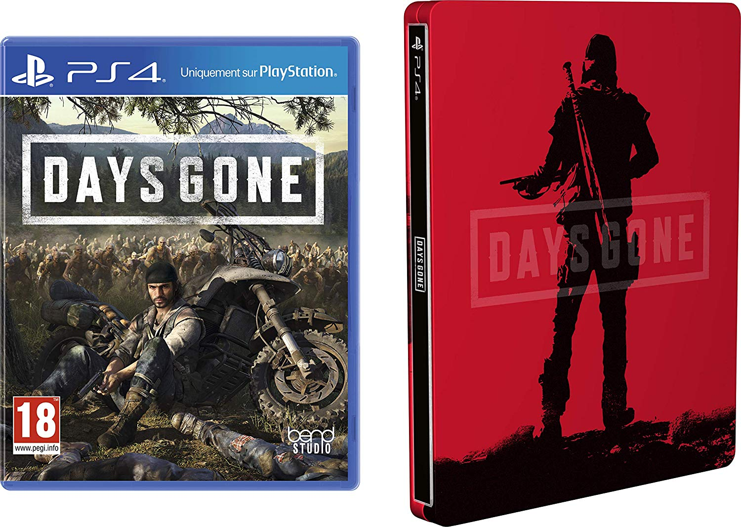 Days gone + le steelbook