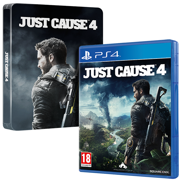 Steelbook Just Cause 4