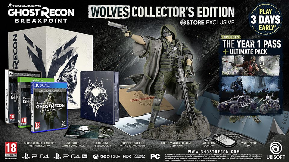 Edition Collector Ghost Recon Breakpoint