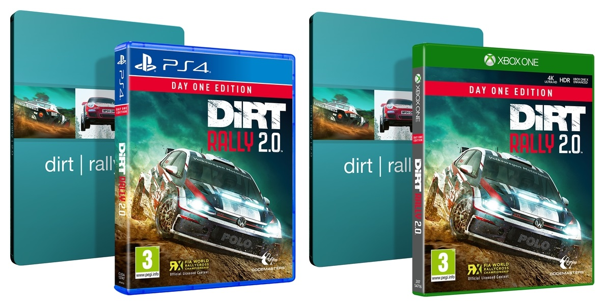 dirt rally 2.0 steelbook