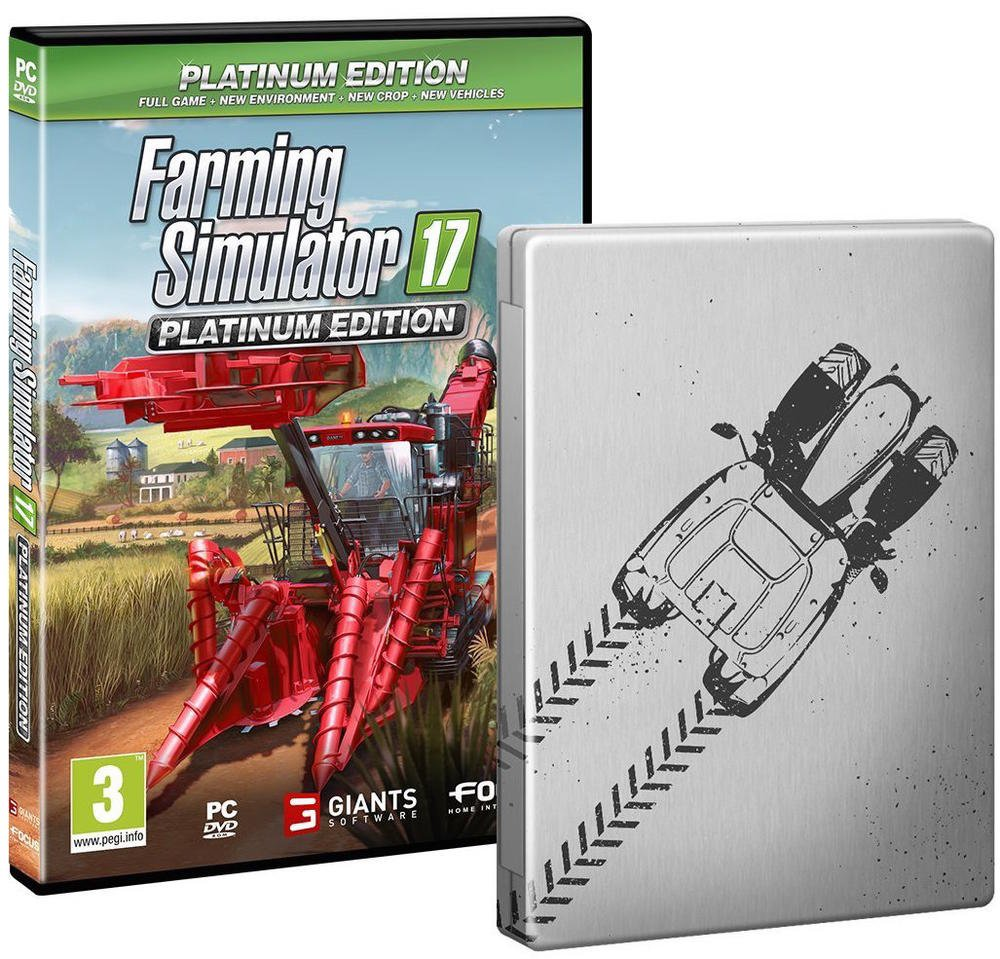 steelbook farming simulator 17