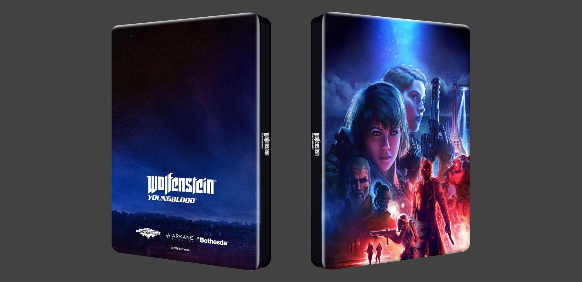 steelbook wolfenstein Youngblood
