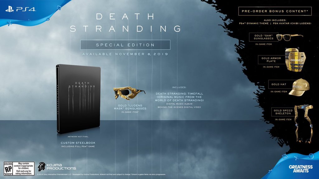 edition speciale death stranding