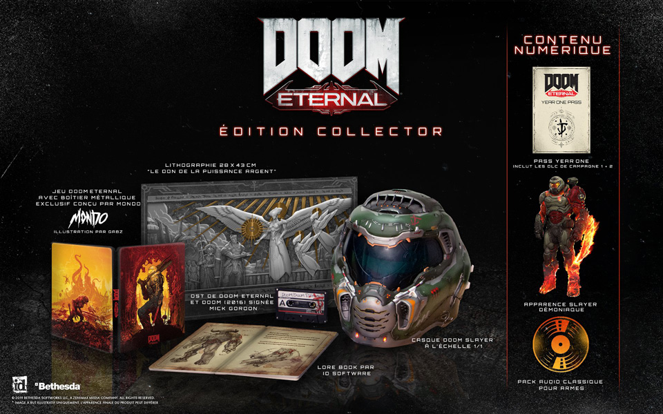 edition collector doom eternal