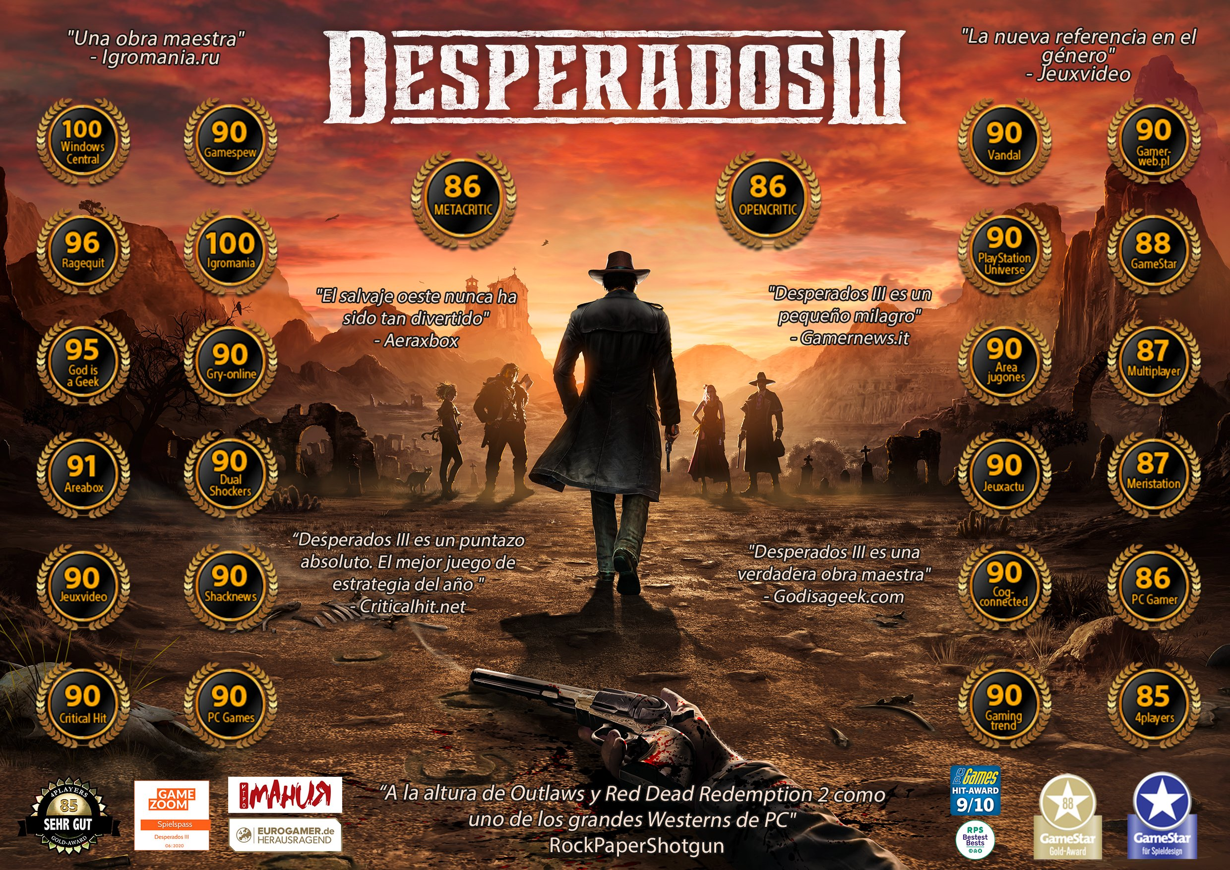Dispo Desperados 3 Steelbook Jeux Video Steelbook Futurepak Edition Collector Et Jeux Video Ps4 Xbox One Switch