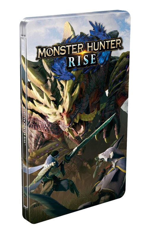 Bonus-de-precommande-Steelbook-Monster-Hunter-Rise