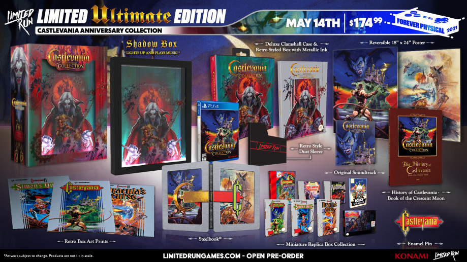 CastlevaniaAnniversaryCollection_Ultimate_Edition_PS4_Limited_Run_Games