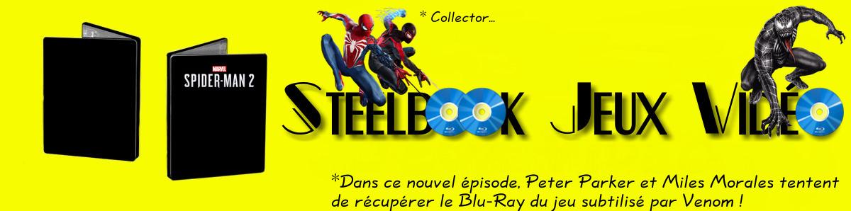 Steelbook Jeux Vidéo