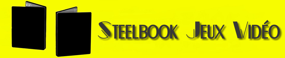 Steelbook, Edition Collector, Jeux Vidéo - Playstation, Xbox, PC et Switch