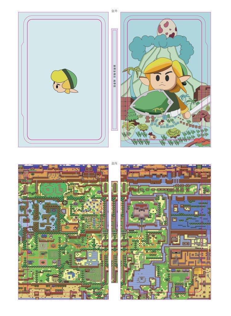 Steelbook The Legend Of Zelda : Link's Awakening
