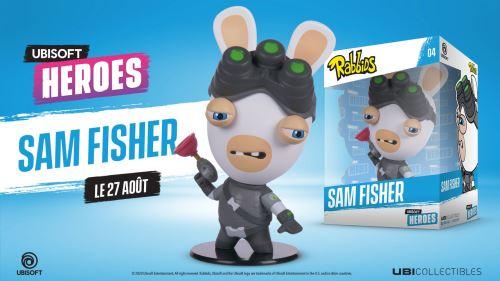 Figurine-Rabbids-Sam-Fisher-Ubisoft-Heroes