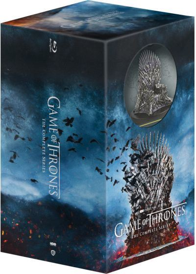 Game-Of-Thrones-L-integrale-des-Saisons-1-a-8-The-Iron-Anniversary-10-ans-Edition-Collector-Blu-ray