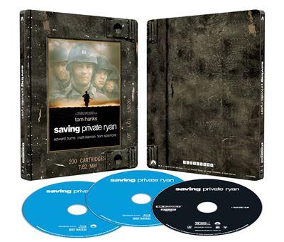 Il-faut-sauver-le-soldat-Ryan-Edition-Limitee-Exclusivite-Fnac-Steelbook-Blu-ray-4K-Ultra-HD