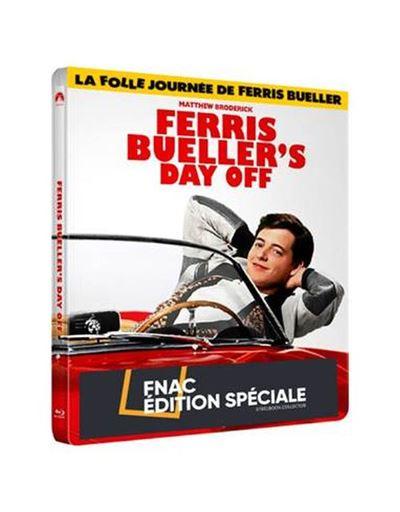 La-folle-journee-de-Ferris-Bueller-35eme-Anniversaire-Steelbook-Edition-Speciale-Fnac-Limitee-Blu-ray