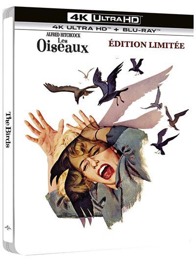 Les-Oiseaux-Steelbook-Blu-ray-4K-Ultra-HD