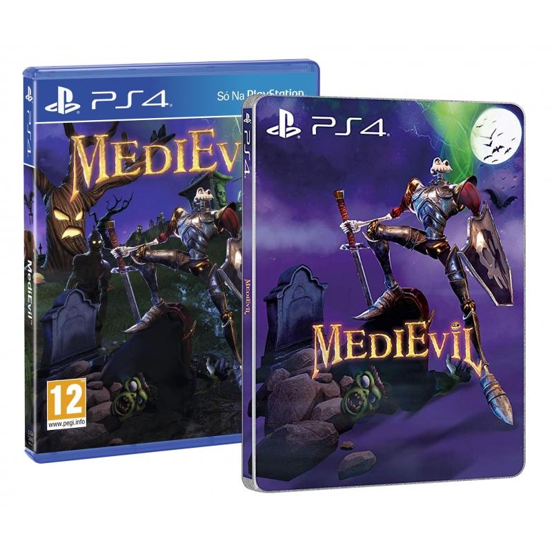 medievil-em-portugues-ps4-oferta-dlc-e-steelbook