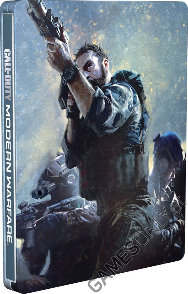 Steelbook Call Of Duty Modern Warfare 2019 - 14,99 € - Lien Direct : https://www.gamesonly.at/index.asp?artikel_id=12391&billing=700390&billing=700390