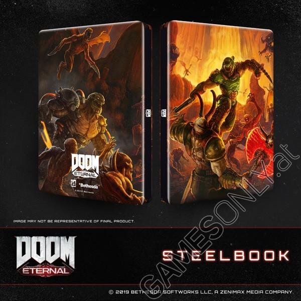 Steelbook Doom Eternal - 14,99 € - Lien Direct : https://www.gamesonly.at/index.asp?typ=zuletzt&goto_site=listen_ansicht&billing=700390
