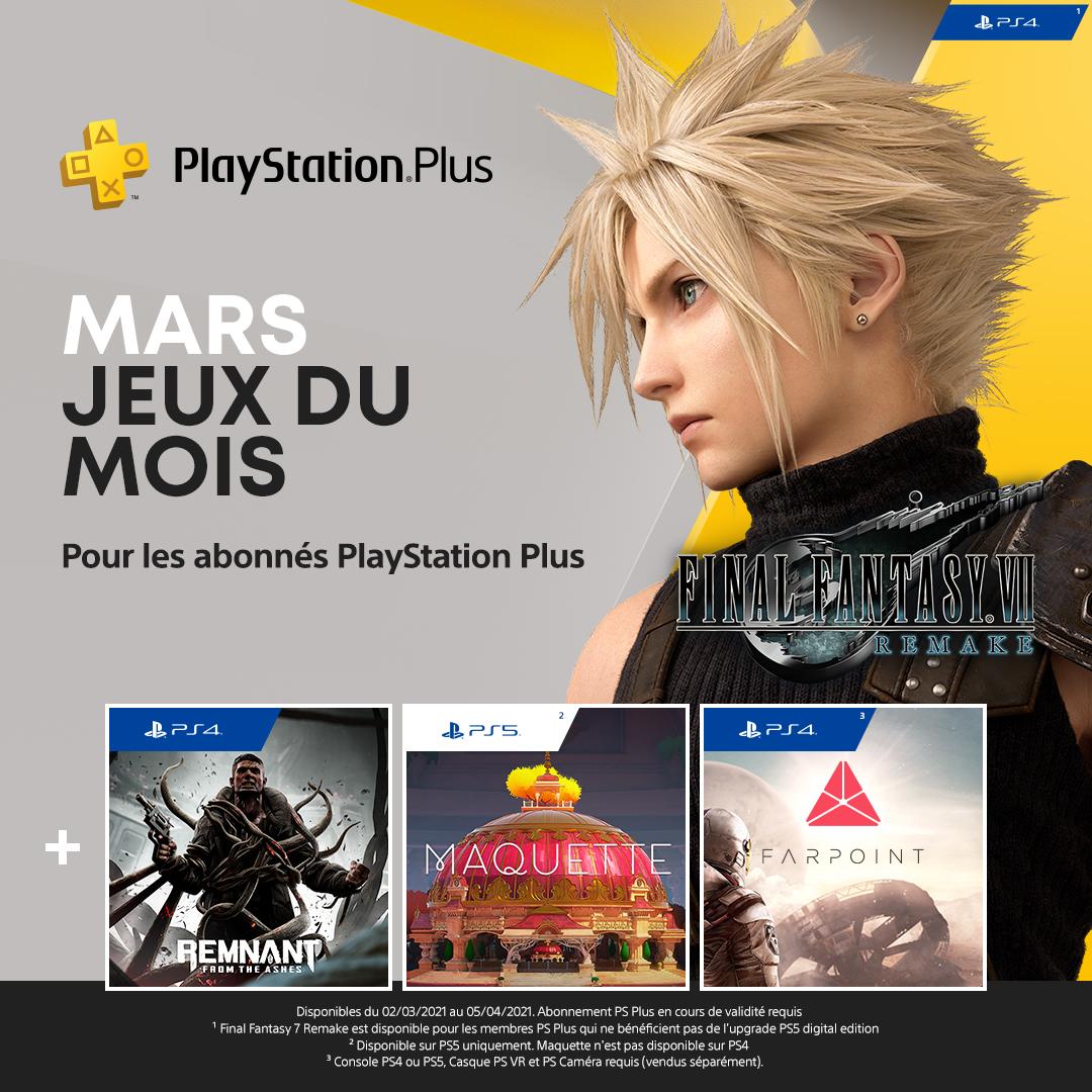 PlayStation Plus - Mars 2021 02