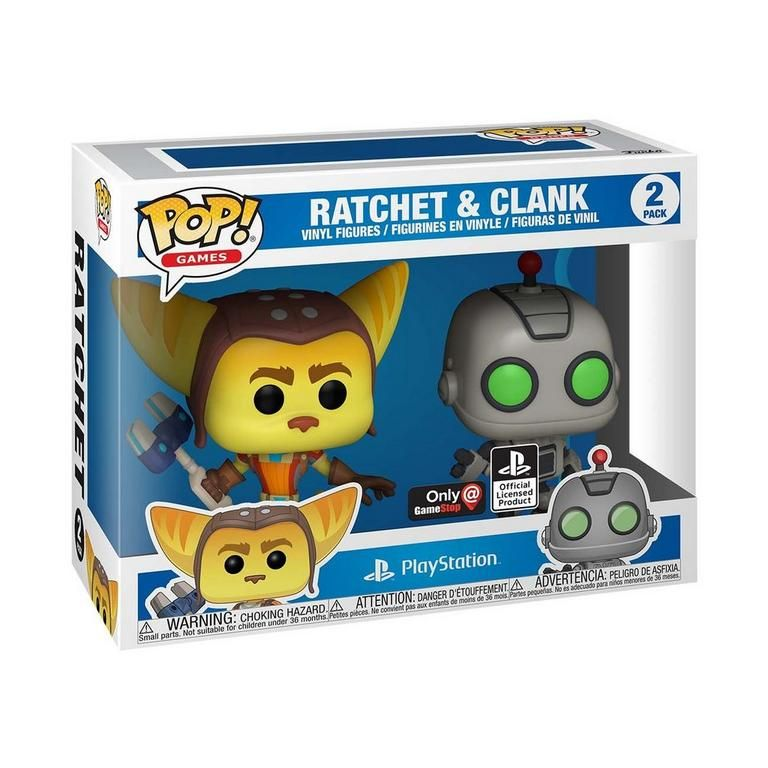 POP-Games-Ratchet-and-Clank-2-Pack-Only-at-GameStop-in-box