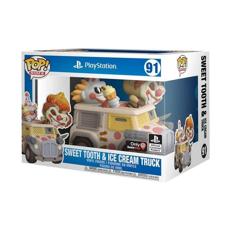 POP-Rides-Twisted-Metal-Sweet-Tooth-with-Ice-Cream-Truck-Only-at-GameStop-1in-box