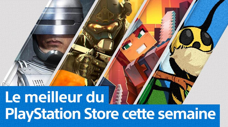 PS Store - Mise à jour du 25 mai 2020