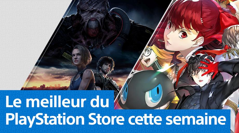 PS Store - Mise à jour du 30 mars 2020