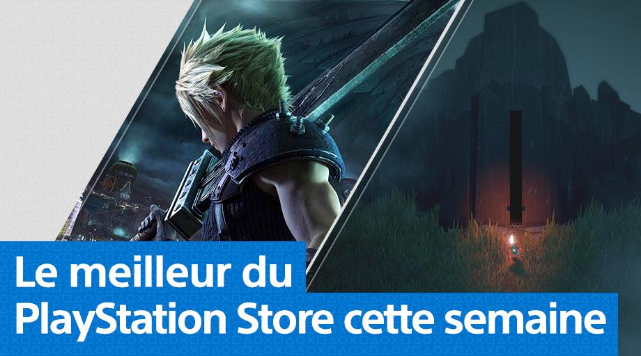 PS Store - Mise à jour du 6 avril