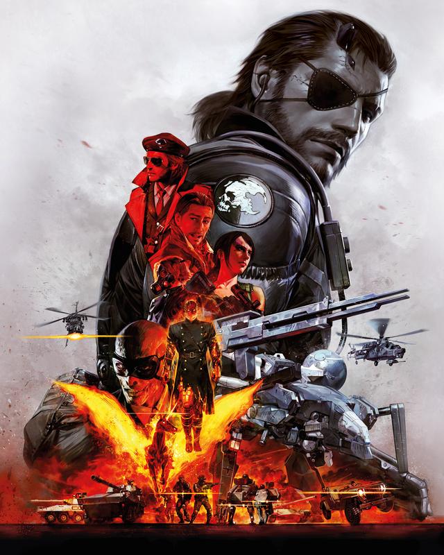 Pablo Uchida n'est pas à sa première collaboration avec Kojima, en effet il est déjà l'auteur de la couverture de l'Edition Definitive de Metal Gear Solid V