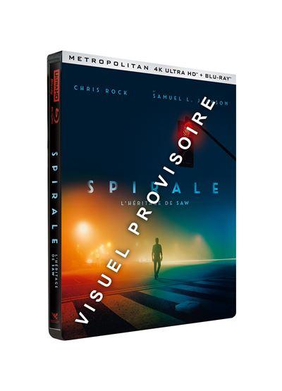 Spiral-L-heritage-de-Saw-Edition-Limitee-Steelbook-Blu-ray-4K-Ultra-HD