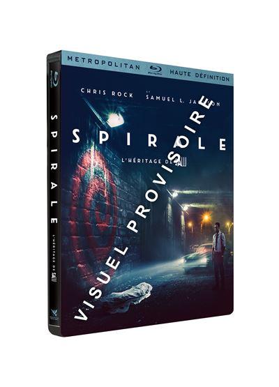 Spiral-L-heritage-de-Saw-Edition-Limitee-Steelbook-Blu-ray