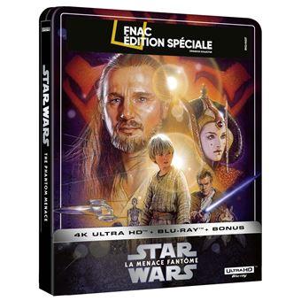 Star-Wars-Episode-I-La-menace-fantome-Steelbook-Exclusivite-Fnac-Blu-ray-4K-Ultra-HD