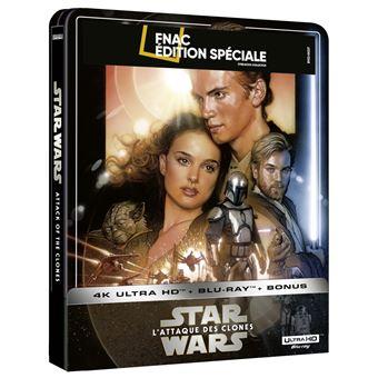 Star-Wars-Episode-II-L-Attaque-des-clones-Steelbook-Exclusivite-Fnac-Blu-ray-4K-Ultra-HD