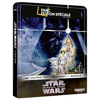 Star-Wars-Episode-IV-Un-nouvel-espoir-Steelbook-Exclusivite-Fnac-Blu-ray-4K-Ultra-HD
