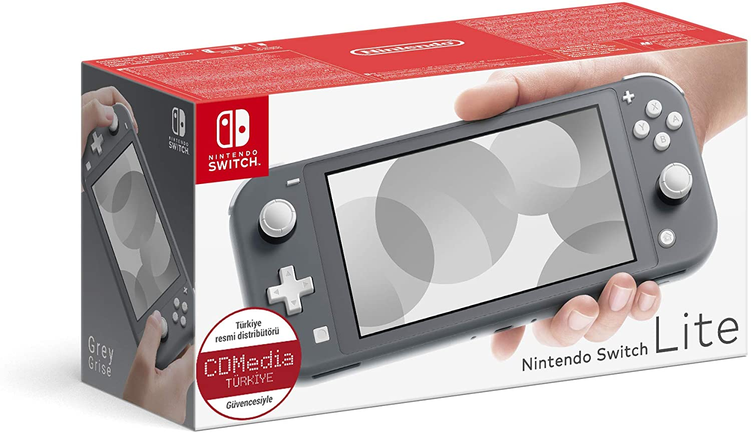 switch lite grise