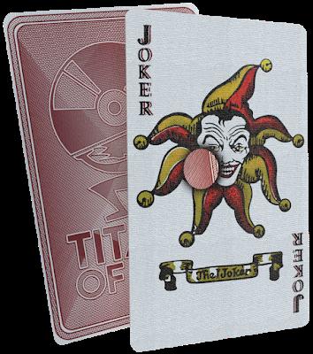 Titans Of Cult - Batman (Playing Card)