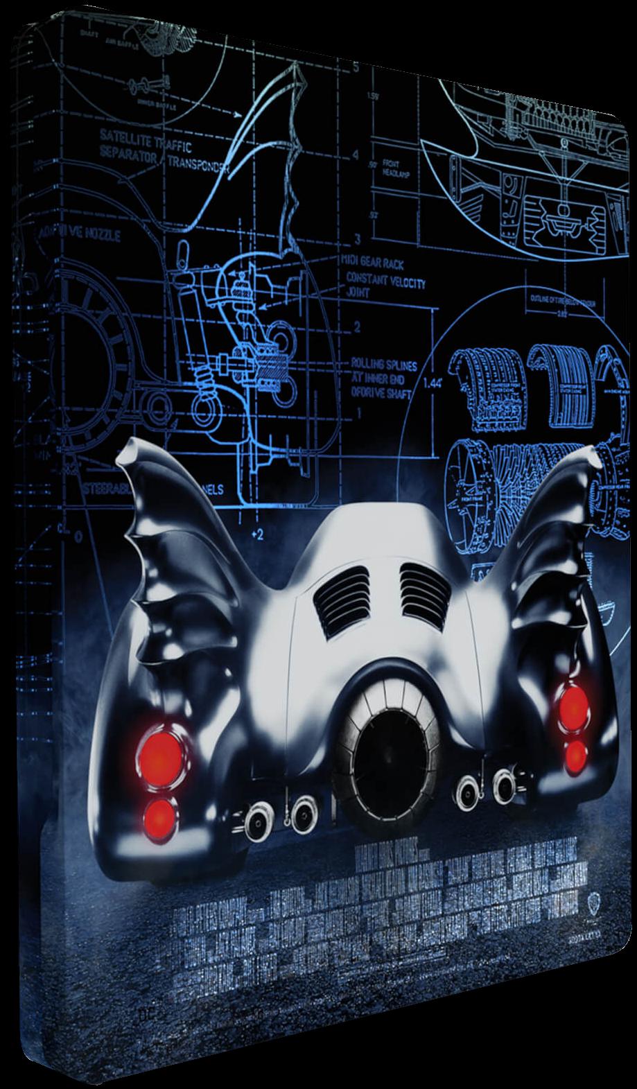 Titans Of Cult - Batman (Steelbook Back)