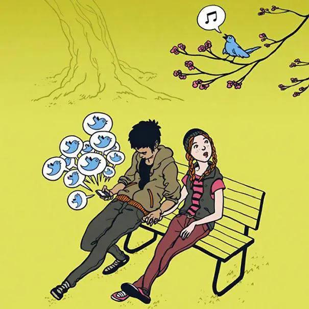 Screenshot_2021-02-20 Ces 40 dessins humoristiques illustrent à quel point les smartphones contrôlent nos vies - Conscience[